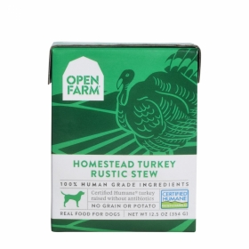 Open Farm Turkey Rustic Stew Wet Dog Food 0