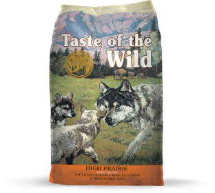 Taste of The Wild  High Prairie Pour Chiots Format: 5lb0
