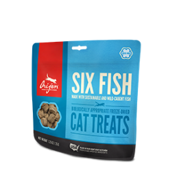 Orijen SIX FISH FORMULA Treats For Cats 0