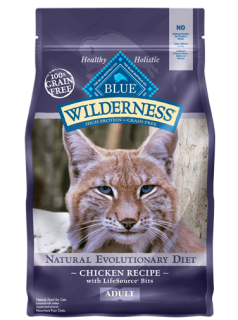 Blue Buffalo chicken formula for adult indoor cat 5.44Kg 0