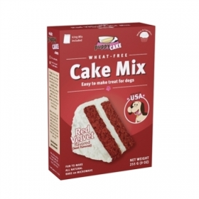 Puppy Cake Mix - Red Velvet (wheat-free) 0