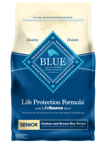 Blue Buffalo  Life Protection Dogs Senior Size Bag: 13.2kg0