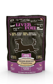 Oven-baked TraditionTreat Beef Liver  For Dogs 0