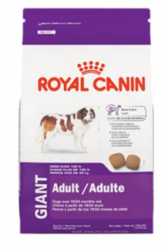 Royal Canin Adult Giant Dry Food For Dogs Size: 15kg0