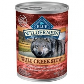 Blue Wilderness ''Wolf Creek Stew'' Ragoût de Saumon 0
