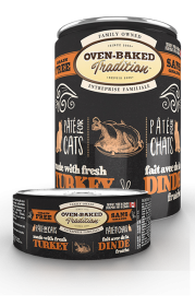 Oven-Baked Tradition TURKEY pate for cat 0