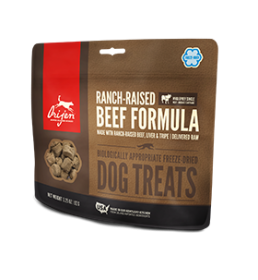 Orijen Treats  RANCH-RAISED BEEF FORMULA For Dogs Size: 3.25 OZ0