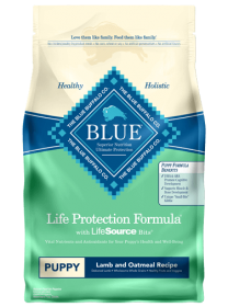 Blue Buffalo Life Protection Formula Chiot Grande Race Grandeur Sac: 26lbs0