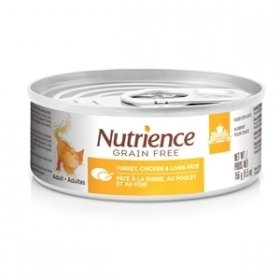 Nutrience  Grains Free wet food Turkey,Chicken et Liver For Cat 0