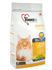 1st Choice Cat Mature Less Active Size: 5.44 Kg0