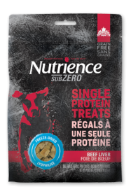 Nutrience Subzero Dogs Treats Flavour Beef Liver 0