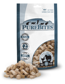 PureBites Freeze Dried Chicken Breast & Lamb Liver  For Cat 0