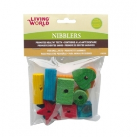 Living World Nibblers Formes Diverses Paquet de 12 0