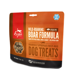 Orijen Treats  WILD-ROAMING BOAR FORMULA For Dogs Size: 3.25 OZ0