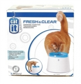 Catit Abreuvoir Fresh & Clear Catit Design, 2 L (64 oz ) 0