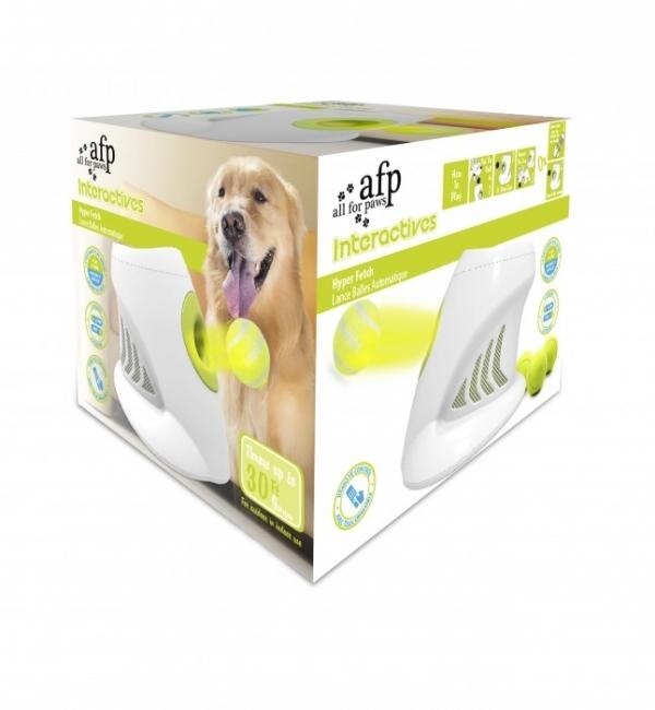 Afp lance balle interactive au royaume des animaux - Lance balle automatique chien ...