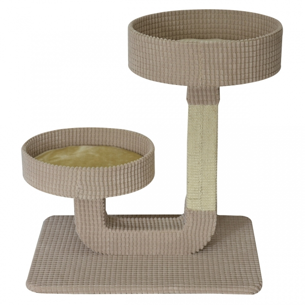 arbre chat animal treasure 39 39 double pedestral 24 39 39 au. Black Bedroom Furniture Sets. Home Design Ideas