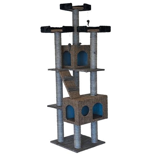 Arbre chat animal treasure 39 39 la tour 39 39 71 39 39 au royaume des animaux - Arbre a chat action ...